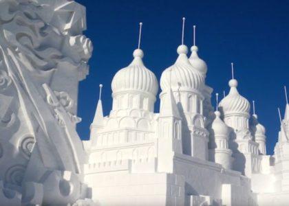 Schnee Figuren & Kunstwerke